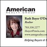 American Realty Group business card thumbnail